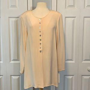 NWT Spenser Jeremy 100% silk long blouse